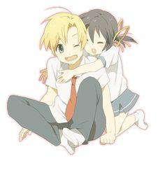 Youhei and Mei ♡