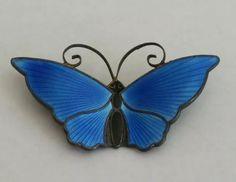 Butterfly Pin, Modern Colors, Brooch Pin, Insects, Bee, Enamel, Brooch, Honey Bees, Vitreous Enamel