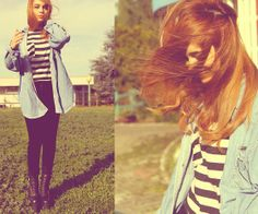 Vintage, hipster style :)