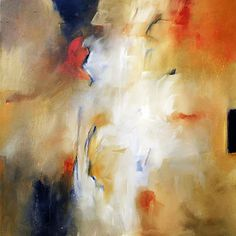 """Abstract Art Painting """"Breakthrough"""" by F. Booth"""