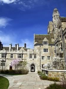 """Yale- """"Some freshmen get put in what's called a 'princess suite' - they are unbelievable,"""" says a Yale student and Her Campus Contributing Writer. """"They're only for girls and they have 2 floors with huge common areas and really spacious bedrooms."""""""