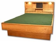 Invented in the 1960s, the most iconic of all waterbed products, wooden-framed or hardside waterbeds' popularity exploded in the 1970s and 1980s.