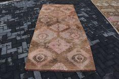 8.2 X 1.7 Feet Decorative Rug Antique Rug Vintage Rug Boho Rug Organic Rug