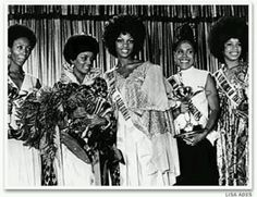 1st Black America pageant.