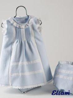 Vestido de Piqué - Productos bebé de siempre - Bebé de siempre - Tienda de ropa infantil Eliam: