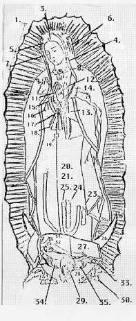 Our Lady of Guadalupe---shows all detail of this image and the symbolism connected with it. Very interesting.