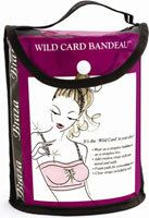 Braza Wild Card Bandeau w/1 pair of Clear Straps - Nude  #brazabra @Braza Bra #bandeau #unmentionables