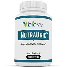NutraUric� - Uric Acid Support Supplement -Powerful Natural Supplement For Health - Promote Normal Uric Acid Levels Effectively With Science Backed Natural Ingredients