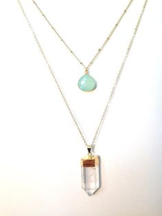 The Emery Layering Necklaces: by TheGlitteredGal