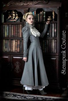 The Lady Grey Coat by ByKato.deviantart.com on @deviantART