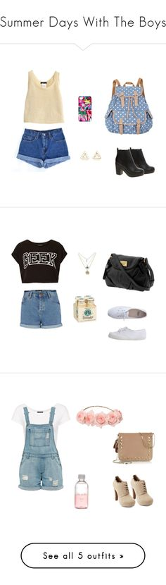 """Summer Days With The Boys"" by one-direction-outfits-of-the-day ❤ liked on Polyvore featuring Levi's, ASOS, Victoria's Secret, With Love From CA, Topshop, River Island, Marc by Marc Jacobs, American Apparel, Charlotte Russe and Lord & Berry"