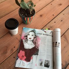 Getting down on the latest and greatest Nylon Mag, & look who we come across…. a little Esra Roise art eye candy!!  #edenadvocate #branchout