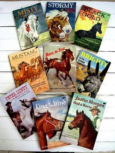 old horse books