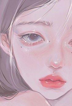 Aesthetic Drawing, Aesthetic Art, Aesthetic Anime, Digital Art Anime, Digital Art Girl, Pretty Art, Cute Art, Tomboy Art, Cartoon Art Styles