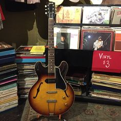 A 1960 Gibson ES-330! For pics & details visit theparlorknoxville.com