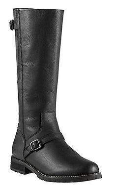 Ariat® Stanton™ Women's Black with Round Toe Tall Waterproof Riding Boot | Cavender's  #cavenders
