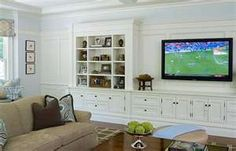 wall entertainment unit