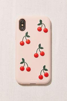 Slide View: 1: Patent Cherry iPhone X Case #iphonexcase,