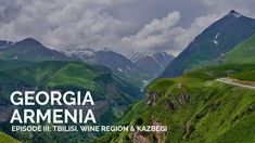 Travel guide for your Travel to Georgia Tbilisi and ideas for your travel to Georgia and what to do in the wine region in Georgia and the Georgian Caucasus. Famous Wines, Georgia Country, Travel Videos, Episode 3, Georgian, Where To Go, Beautiful Landscapes, Traveling By Yourself, Cities