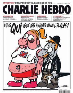 charlie hebdo muhammad mohammed cartoons | Charlie Hebdo (French for Charlie Weekly) is a French satirical weekly ...