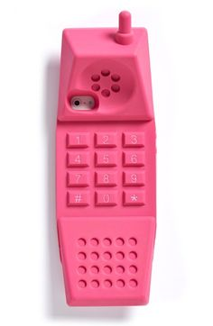 Free shipping and returns on Moschino 90s Cell iPhone 5, 5s & 5c Case at Nordstrom.com. With its witty take on 90s-era tech, complete with chunky number pad and mock antenna, Moschino's bubblegum-pink iPhone case will safeguard your smartphone from scuffs and scratches in high style.
