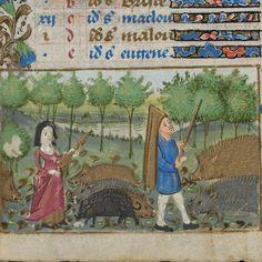 Manuscript title: Book of Hours  Origin: Nantes ? (France)  Period: 15th century  Image source: Genève, Bibliothèque de Genève, Ms. lat. 33, p. 11r – Book of Hours ( www.e-codices.unifr.ch/en/bge/lat0033/11r )