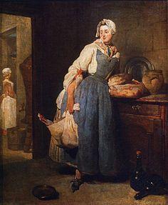 La proveedora, 1739, Jean Siméon Chardin