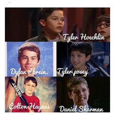 Young Teen Wolf Cast, OMG WAY TOO ADORABLE... OMG <3