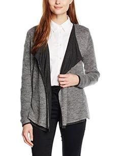 fde3769cf08e ESPRIT Women s 106EE1I029 Jumper Grey (Grey 5) 38 (Manufacturer size   Medium)
