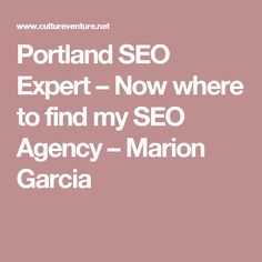Portland SEO Expert – Now where to find my SEO Agency – Marion Garcia Does the SEO experts rank for more than one search phrases in Portland</h2>  Now it is excellent when your company site is ranking in Search Engine. But you also need to rank for a lot of keyword phrases. If you're a plumbing professional, would you aim to rank for Portland Plumber, plumbing contractor in Portland , Find Oregon plumbers and etc? You get what i am talking about.
