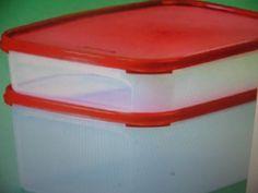 Tupperware Stuffable Bowls Set 1 /& 2 cup Award Winning Flex Seals Orange New