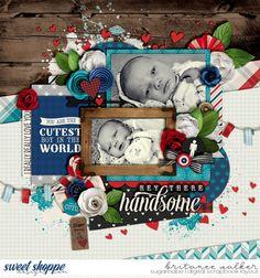 Hello Handsome by Kristin Cronin-Barrow Set 209 by Cindy Schneider ·