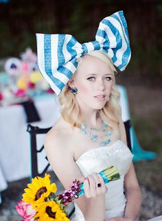 It is incredibly easy to be inspired with a fairy tale classic like Alice in Wonderland. We have seen it a few times on The Wedding Chicks over here and over here. Each Alice In Wonderland Wedding Inspiration has had its own unique twist.  Just as ...