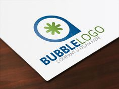 Bubble Logo by Josuf Media on @creativemarket