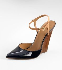 Emilie Wedge in Navy (Tory Burch)  I like everything about these shoes....