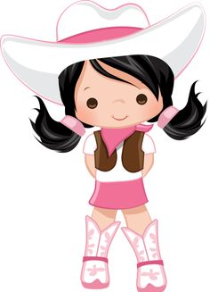No falten a mi fiesta! Cowgirl Birthday, Cowgirl Party, Anniversaire Cow-boy, Pink Cowgirl Boots, Western Parties, Clip Art, Cute Clipart, Farm Party, Western Theme