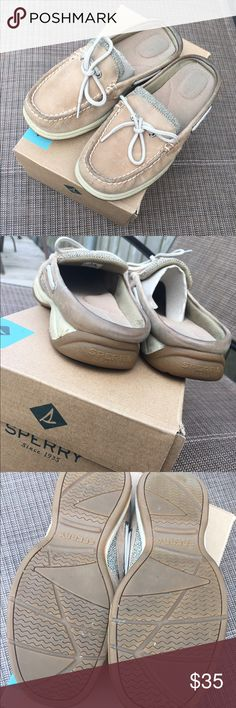 final price drop Women's Slip On Sperry In great condition. Worn handful of times. Sperry Shoes