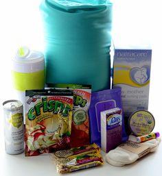 New Mom Comfort Hospital Gift Basket
