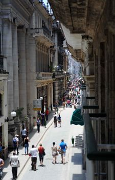 Obispo Street Havana Cuba