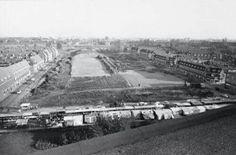 Dit waren de voetbalvelden van de Volewijckers.
