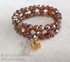 Blue Moon Beads Bracelet