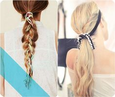Best Two Ponytails Hairstyles For School girl