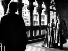 Production still from 'Othello' designed by Alexandre Trauner, 1948-50 (released 1952) (directed by Orson Welles)