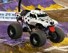 Monster Jam monster mut dalmation...Her performance was amazing one of the best!!
