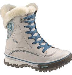 Pixie lace waterproof boot by Merrell Waterproof Winter Boots, Winter Gear, Outdoor Apparel, Merrell Shoes, Snow Boots Women, Fashion Wear, Combat Boots, Footwear, Pixie