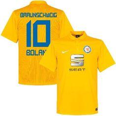 Nike Eintracht Braunschweig Home Boland No.10 Shirt Eintracht Braunschweig Home Boland No.10 Shirt 2015 2016 (Fan Style Printing) - M http://www.MightGet.com/february-2017-2/nike-eintracht-braunschweig-home-boland-no-10-shirt.asp