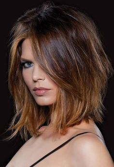 Women's Medium Bob Layered Hairstyles Natural Straight Human Hair Wigs Lace Front Wigs – Hair Styles 2019 Choppy Bob Hairstyles, Frontal Hairstyles, Wig Hairstyles, Medium Layered Hairstyles, Hairstyles For Medium Length Hair With Layers, Medium Length Hair With Layers And Side Bangs, Shoulder Length Layered Hair, School Hairstyles, Edgy Medium Haircuts