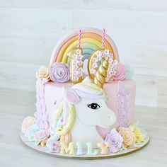 Dream Big, Sparkle On and Shine Bright ? The power of Thought, the magic of the mind ? Dream Big, Sparkle On and Shine Bright ? The power of Thought, the magic of the mind ? Unicorn Themed Birthday Party, Baby Birthday Cakes, Unicorn Party, Unicorn Cakes, Carnival Birthday, Unicorn Gifts, Indian Cake, Pony Cake, Girl Cakes