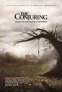 The Conjuring (2013), New Line Cinema, Safran Company, The, and Evergreen Media Group with Patrick Wilson, Vera Farmiga, and Ron Livingston. Fun, fun flick.