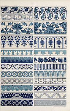 EXAMPLES OF CHINESE ORNAMENT A selection from the 100 plates featured in the book Examples of Chinese ornament selected from objects in the South Kensington museum and other collections by Owen Jones. From the Preface: Chinese Design, Chinese Art, Chinese Prints, Chinese Style, Frise Art, Bordado Jacobean, Textures Patterns, Print Patterns, Flower Patterns